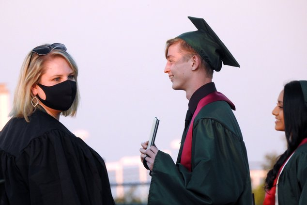 Austin Taylor graduates