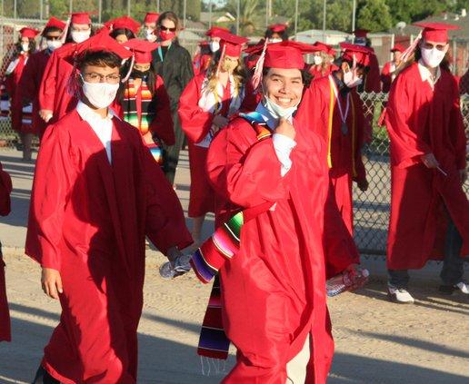 Ceres High seniors file