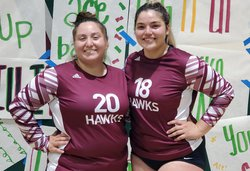 Samantha Espinoza and Azalia Diaz
