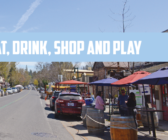 Stay, eat, drink, shop and play