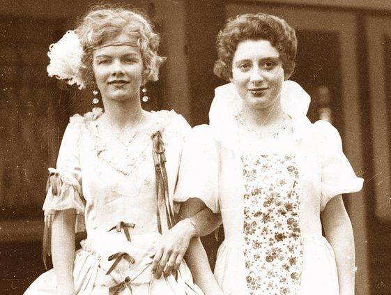 Wanda Hosmer and Betty Baker