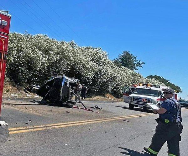 Geer Road crash June 23 2021