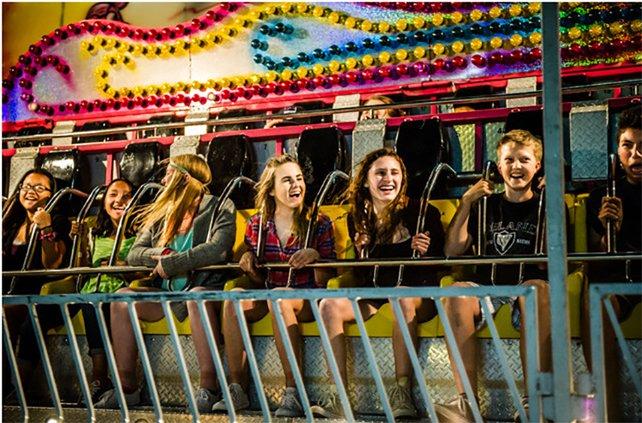 Merced fair carnival