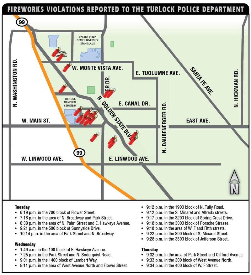 illegal fireworks crime map