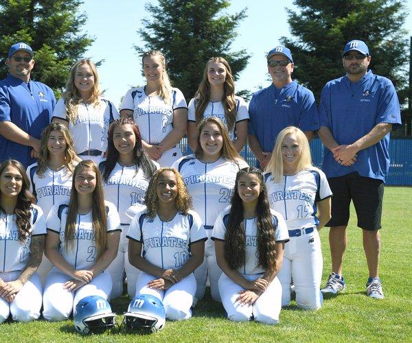 Modesto Junior College's softball team