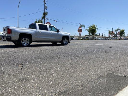 Golden State Boulevard roads