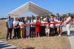 Ochoa Park ribboncutting