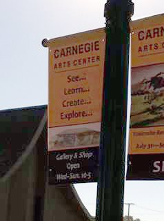 Carnegie banners