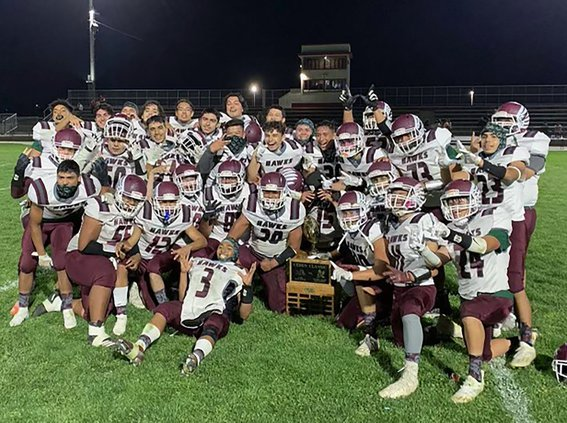 Central Valleys football  undefeated