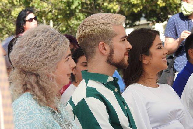 Ochoa family at park
