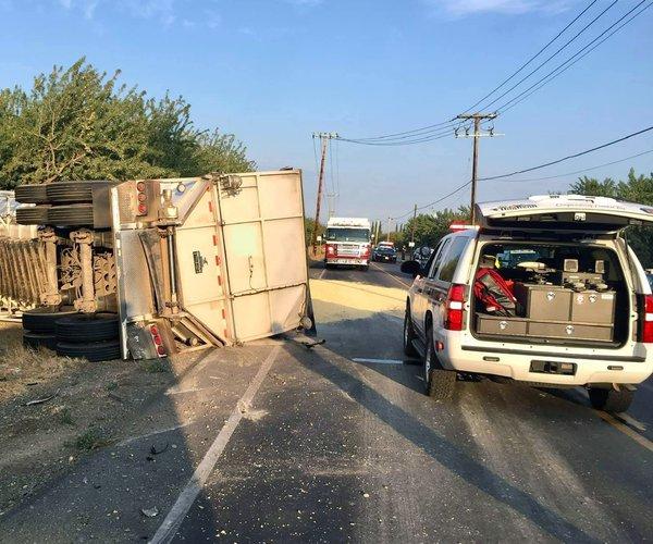 Fatal crash Keyes Road