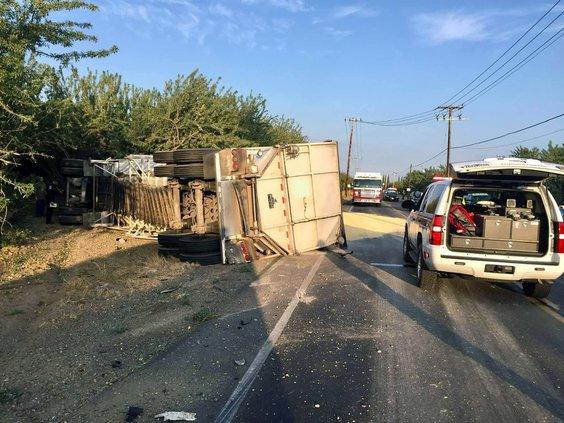 Keyes Road crash