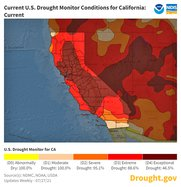 Drought map July 2021