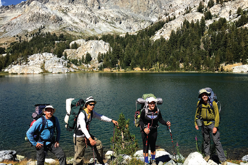 sierra-2.pngAnsel Adams Wilderness:  The author and companions relished a visit to Ediza Lake in Ansel Adams Wilderness.