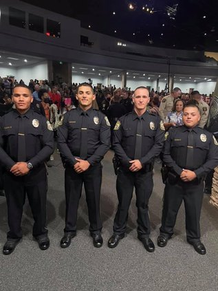 new TPD officers