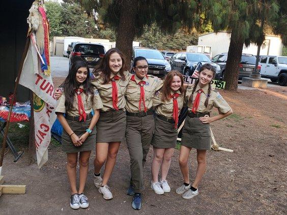 Girl Troop 1