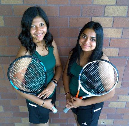 Jessica Saini and Harman Kaur