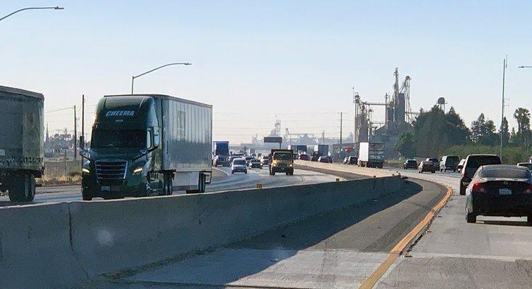 Commuting on Highway 99