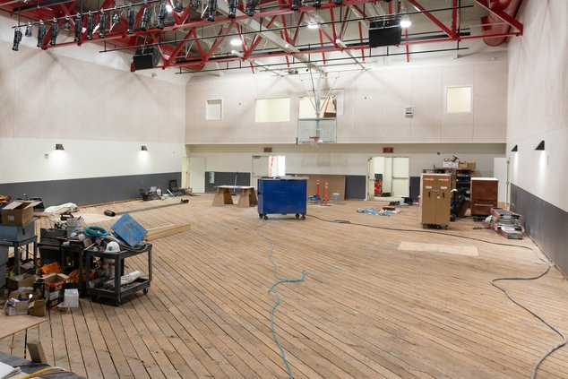 Old gym at CHS