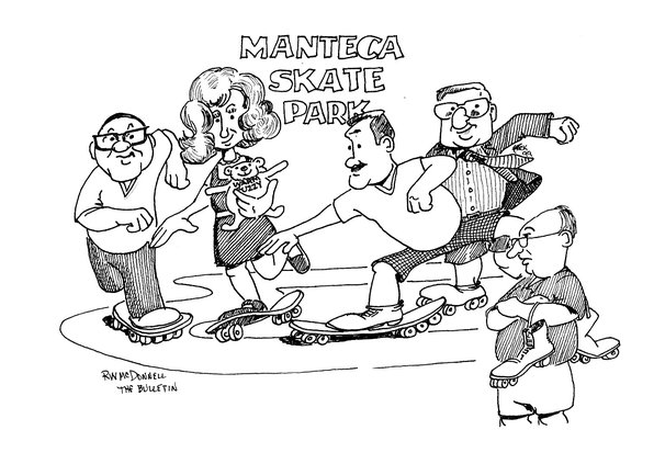 skate cartoon