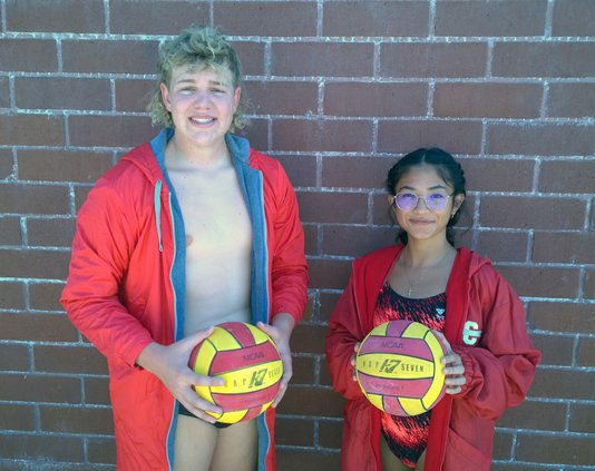 Nick Campbell and Andrea Contreras