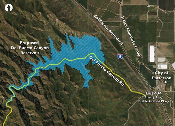 Del Puerto Reservoir project