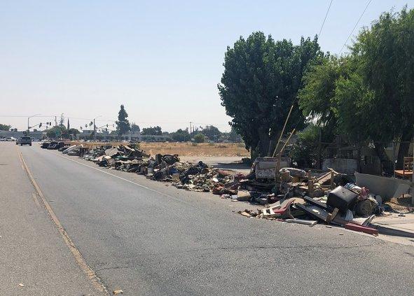trash on Herndon