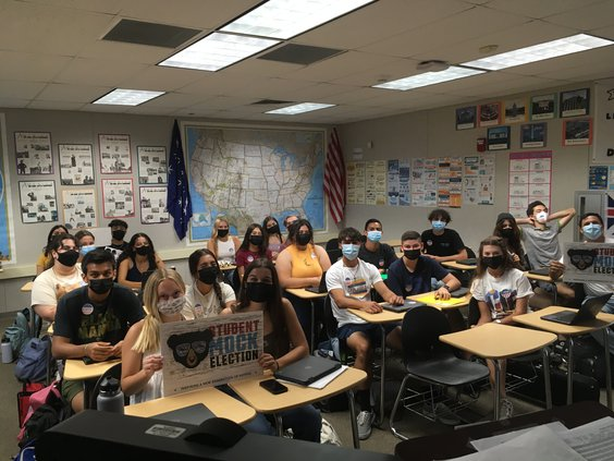 student mock recall election