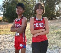 Rey Soto and Jaden Stahl
