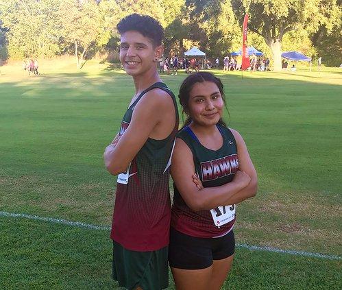 Roberto Rosales and Ashley Anaya