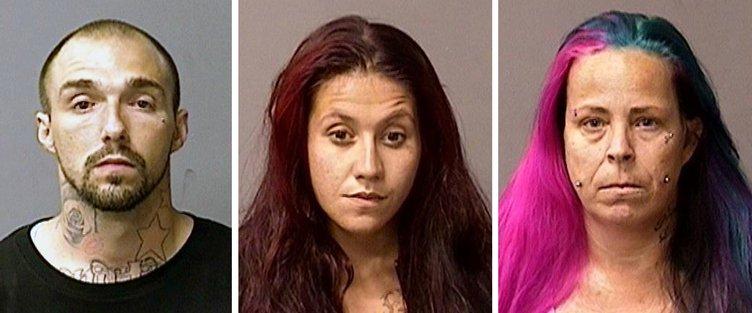 criminal trio Hughson