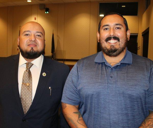 Daniel Martinez with Javier Lopez