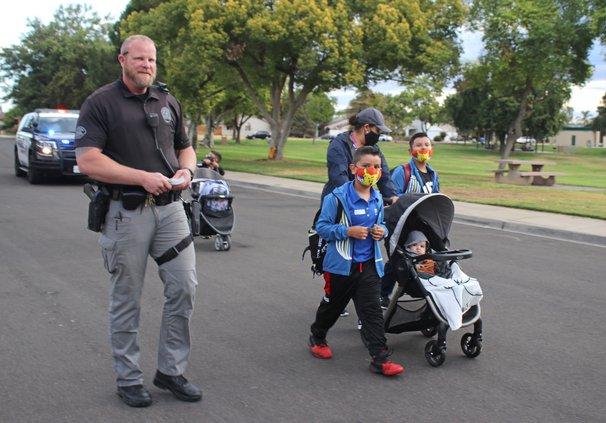 Brian Peterson Walk to School