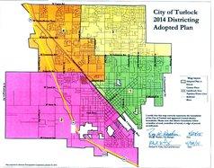 Turlock district map