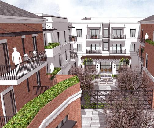 terraces rendering