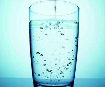 Cup of water
